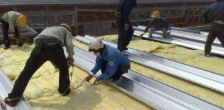 chống nóng mái tôn nhà xưởng