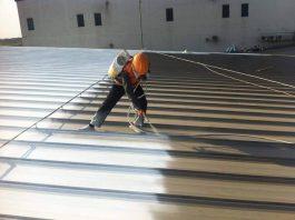 sơn chống nóng cho mái tôn nhà xưởng