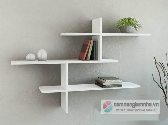 Mẫu 14: Kệ treo tường đơn giản