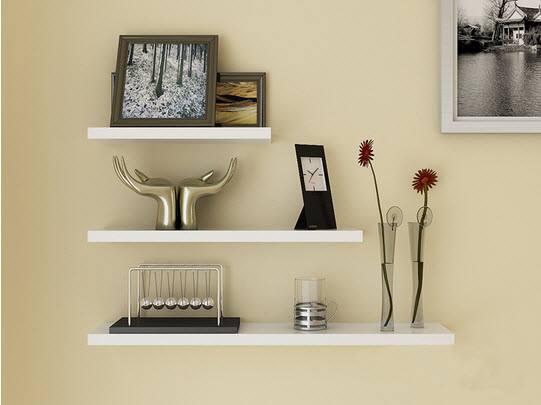 Mẫu 11: Kệ treo tường đơn giản