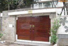 mẫu cổng nhà đơn giản mà đẹp