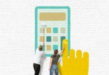 Tính toán diện thích cần sơn nhà