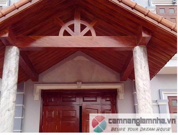 gỗ công nghệ sử dụng được ở nhiều vị trí nhà