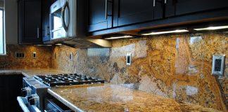Đá hoa cương lát bếp nhập khẩu cao cấp luôn đem lại sự sang trọng cho ngôi nhà bạn