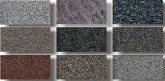 Một số mẫu đá hoa cương nhân tạo
