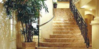 Đá hoa cương lát cầu thang 3D