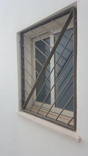 Mẫu song cửa sổ bằng sắt đơn giản, an toàn