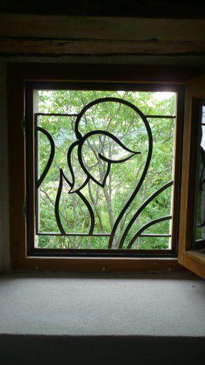 Song cửa sổ hoa sắt đẹp và an toàn cho cửa sổ