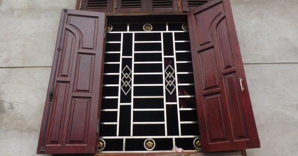 Song sắt cửa sổ đơn giản đẹp