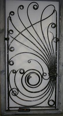 Song sắt cửa sổ hoaa văn thẩm mỹ đẹp