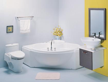 Một bộ sản phẩm thiết bị vệ sinh Inax cho những phòng tắm có diện tích khiêm tốn