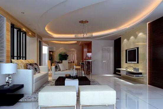 Top 10 mẫu trần thạch cao đẹp ấn tượng cho phòng khách