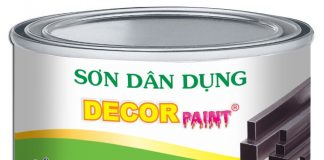 Sơn mạ kẽm Decor paint 2 in 1