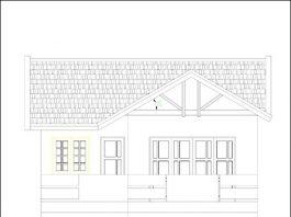 Mặt tiền - Thiết kế nhà 2 tầng mái thái 80m2