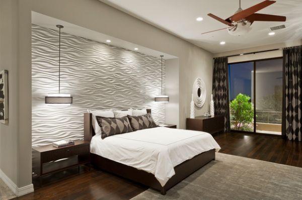 Phòng ngủ cho ba mẹ rộng rất tiện ích cho công việc và nghỉ ngơi. Không gian phòng ngủ này cũng được lấy ánh sáng ban công phia trước.