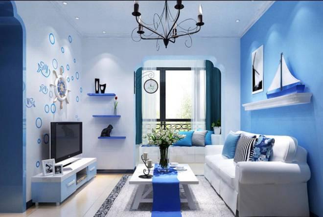 Mẫu 6 - Màu sơn nhà cho người mệnh Thủy