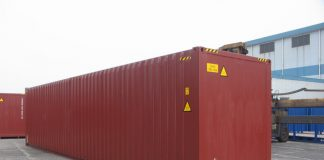 các loại thùng container