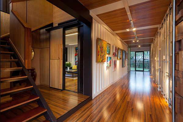 Thiết kế sang trọng bên trong nhà