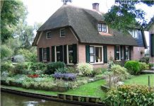 nhà vườn ao cá