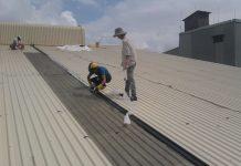 Thi công chống dột mái tôn nhà xưởng