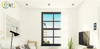 Tường nhà cũng là yếu tố quan trọng trong thiết kế phòng khách chung cư nhỏ