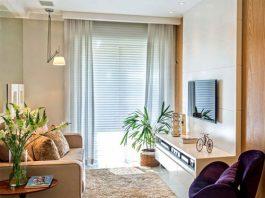 Sử dụng cây xanh trong phòng khách tạo không gian mát mẻ, thoáng đãng