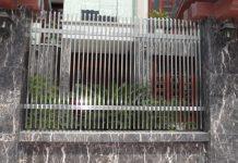 Mẫu hàng rào inox độc đáo