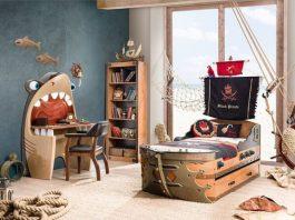 Thiết kế phòng ngủ bé trai phong cách hải tặc