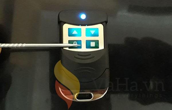 Nút khóa làm cho remote không thể hoạt động