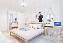 mẫu phòng ngủ 20m2 được thiết kế đẹp