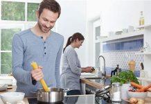 Hướng bếp mang lại may mắn