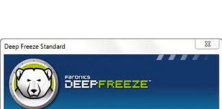 sử dụng deep freezes
