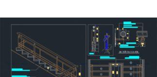 15+ mẫu bản vẽ cad các loại cầu thang chi tiết nhất