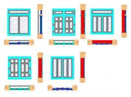 Bản vẽ CAD chi tiết cửa sổ lùa