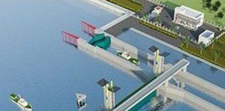 Bản vẽ CAD cống ngăn triều Tân Thuận