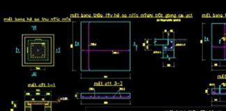 Bản vẽ CAD kết cấu hố ga, bể chứa, bể tự hoại