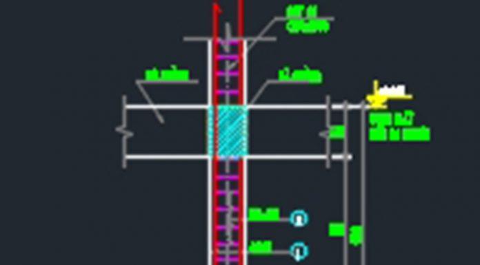 Bản vẽ CAD kết cấu móng đơn