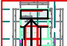 Bản vẽ CAD nhà phố 2 tầng
