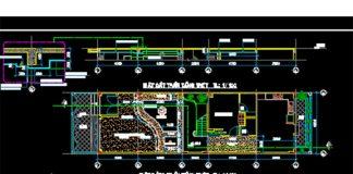 Bản vẽ CAD thiết kế cấu tạo trần thạch cao