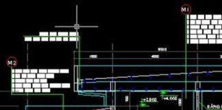 Bản vẽ CAD thiết kế cây xăng dầu