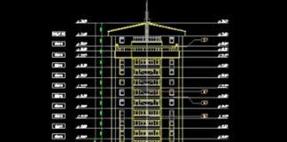 Bản vẽ CAD thiết kế chung cư cao cấp