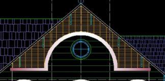 Bản vẽ CAD thiết kế nhà mái thái