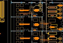 Bản vẽ CAD quy hoạch trang trại bò sữa