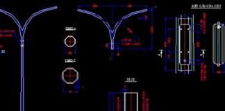 Bản vẽ CAD tổng hợp đèn chiếu sáng công cộng